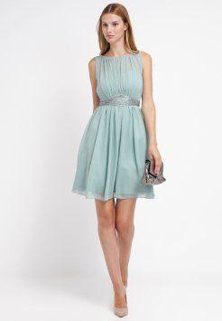 Zalando - Little Mistress - Robe de soirée - sage 90€ existe en rouge bleu  foncé bleu pastel 743003ac018