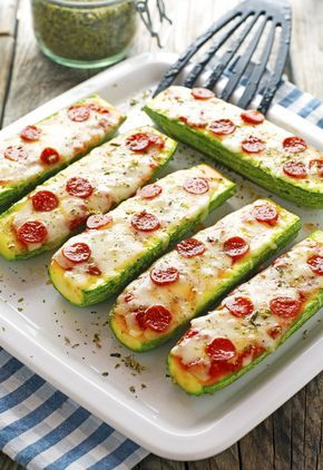 Photo of Zucchini Pizza Boats