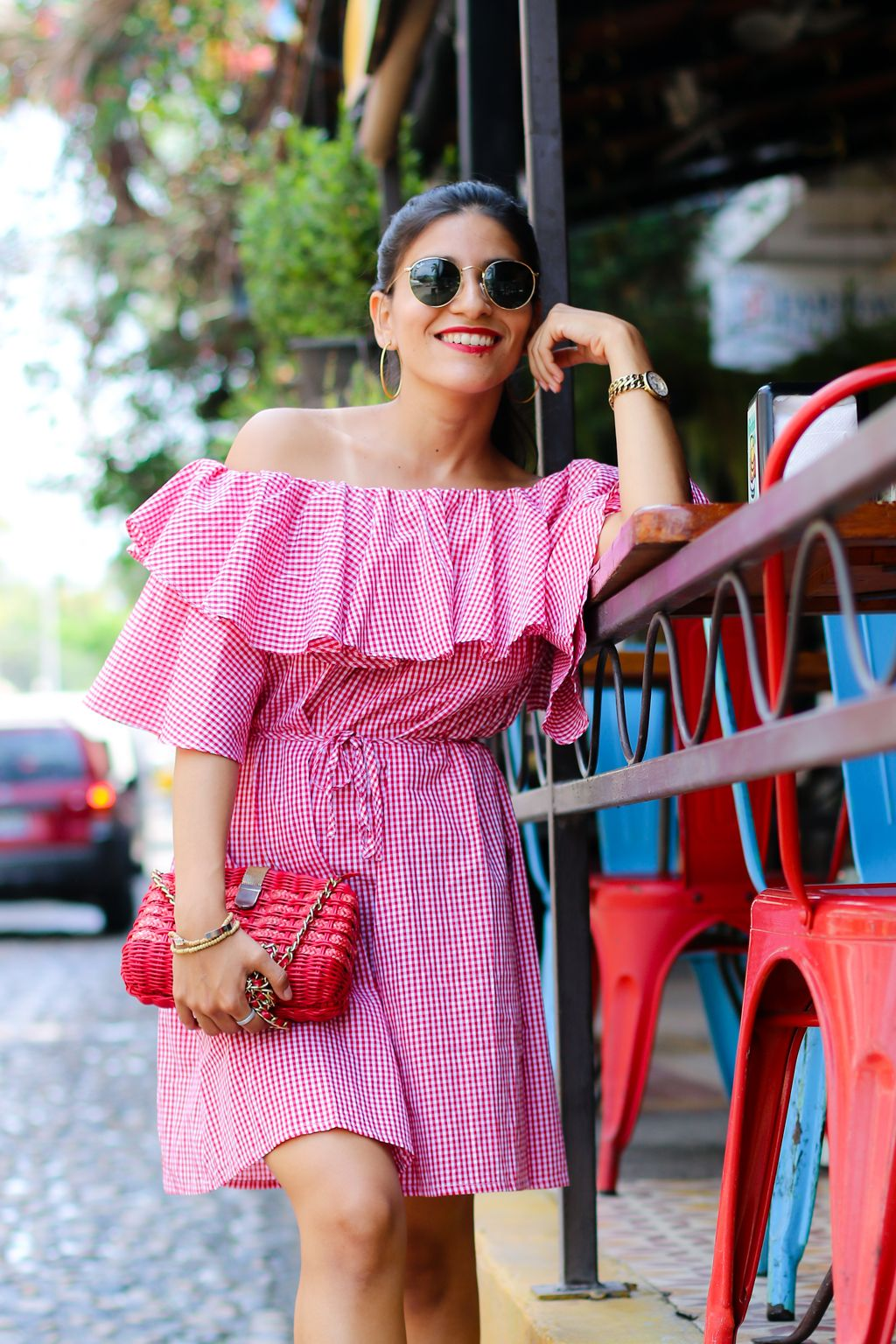 the perfect gingham summer dress