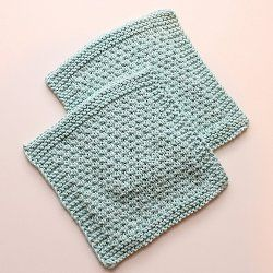 Sploshy Washcloth Allfreeknitting Knitted Patterns