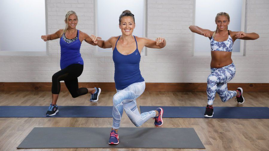 15-Minute At-Home Cardio Workout For Beginners: Everyone has to start somewhere. #pilatesworkoutvideos