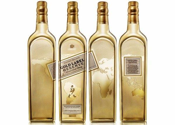 Golden Map Johnnie Walker Gold Label Reserve Exclusive