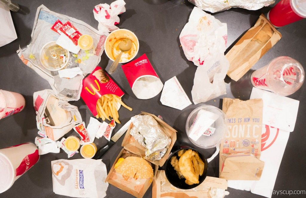 Fast Food Buffet with friends - that's fun!
