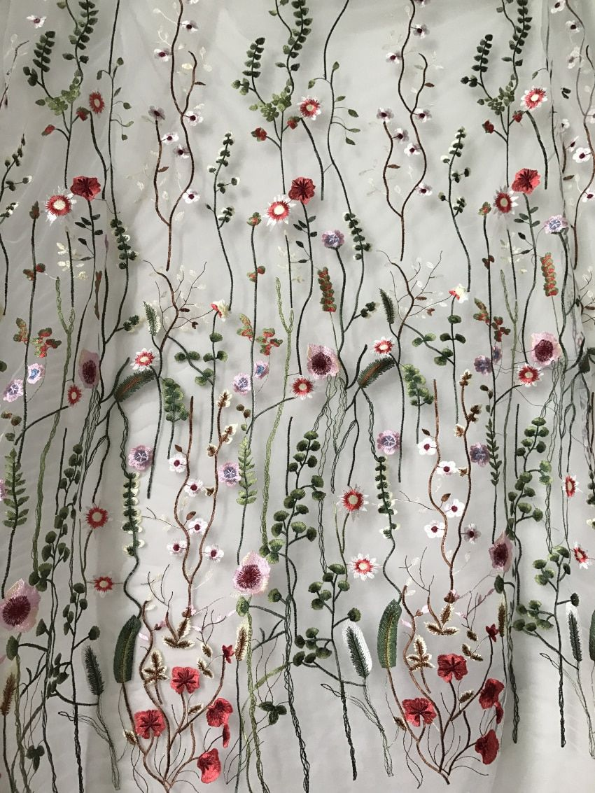 Floral Dress /& Craft Netting Fabric
