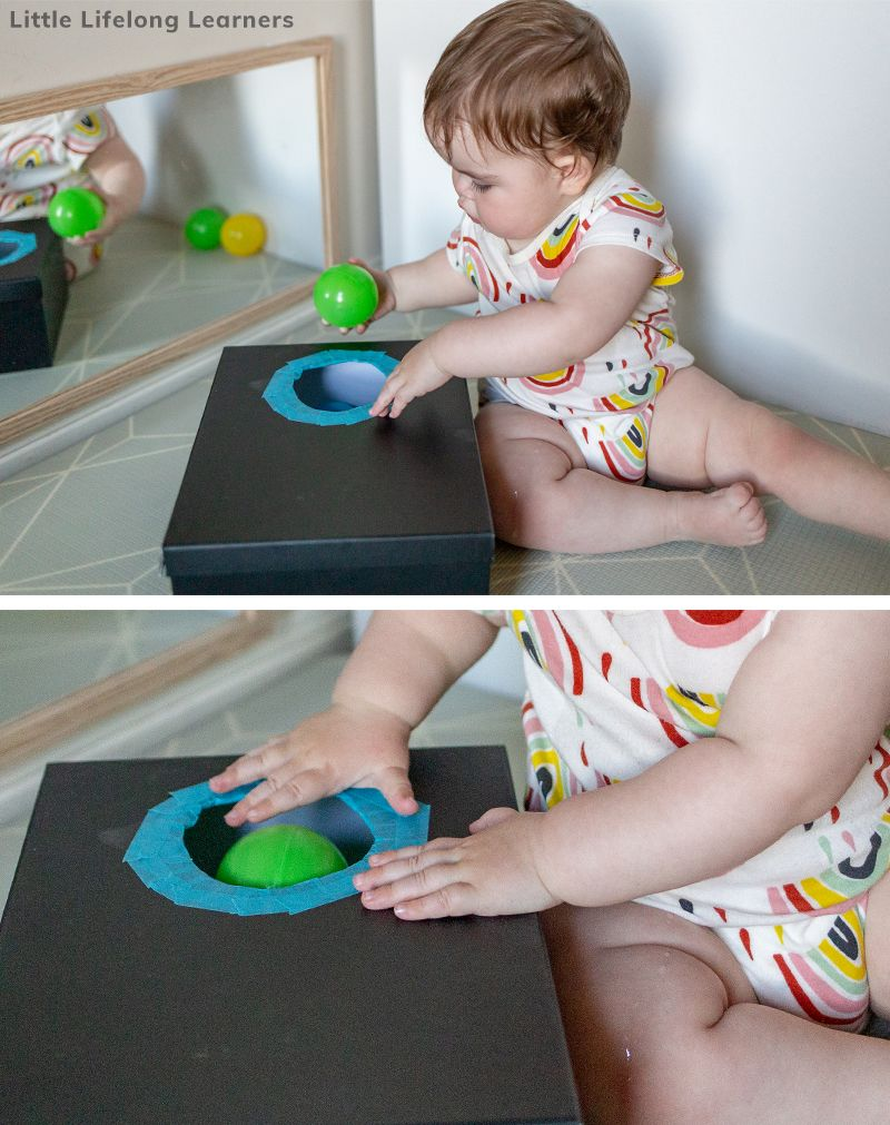 Baby Play At 10 Months Little Lifelong Learners Baby Play Activities Baby Sensory Play 10 Month Old Baby Activities
