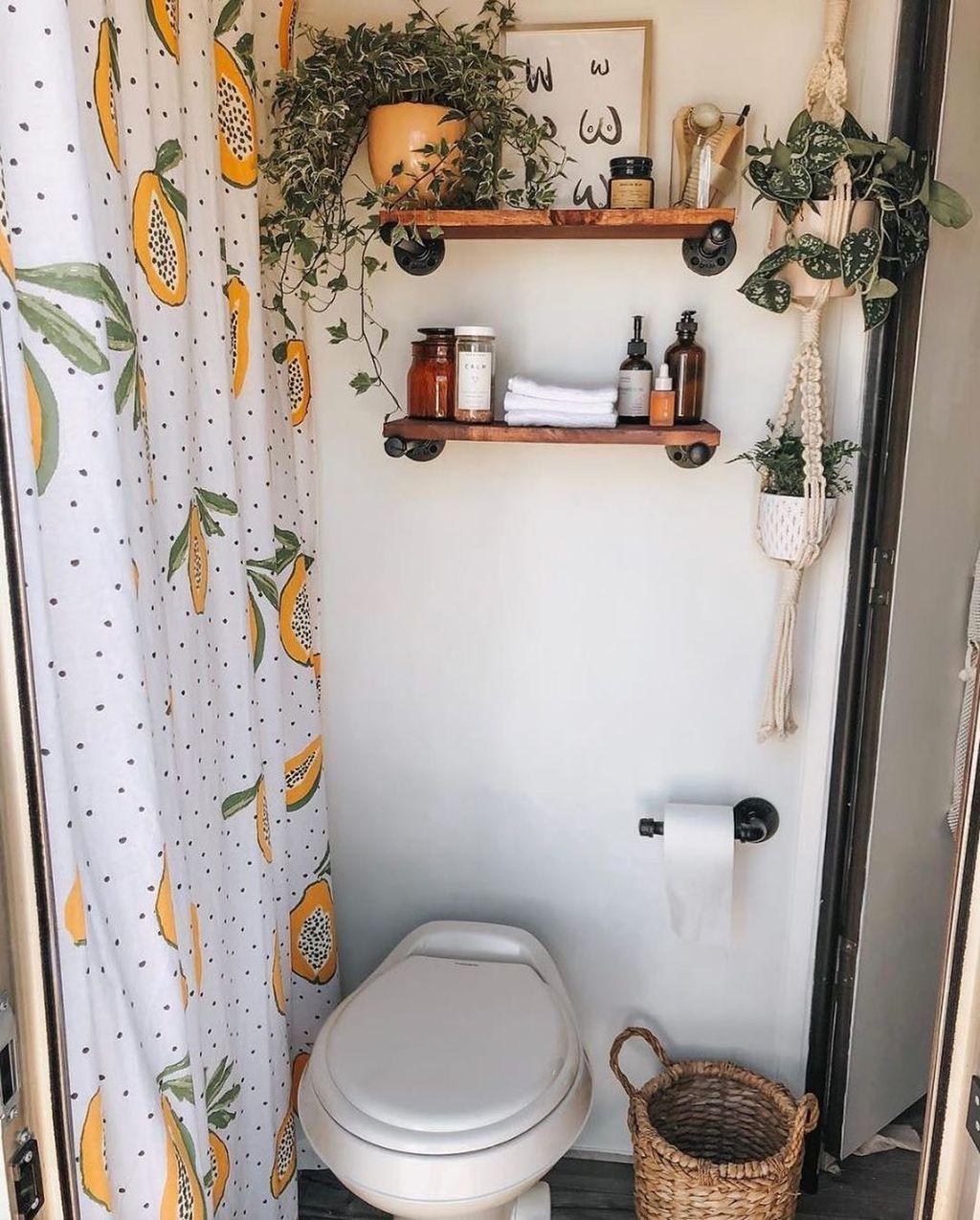 Photo of 35+ fabelhafte Badezimmer-Design-Ideen mit Boho-Vorhängen