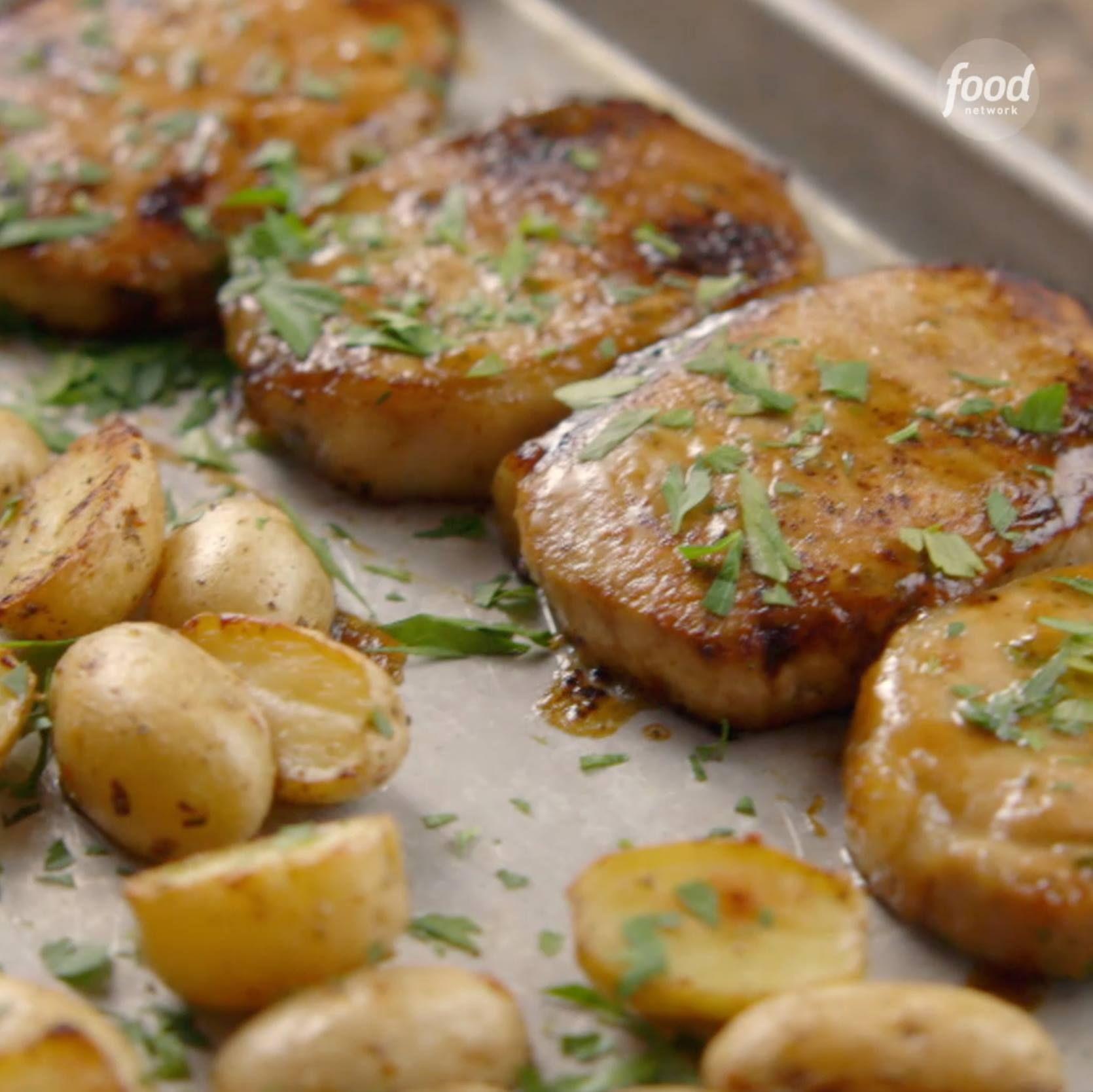 Ranch Pork Chop Sheet Pan Supper - Cooking TV Recipes