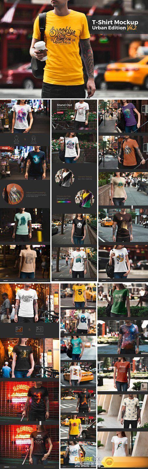 Download Cm T Shirt Mockup Urban Edition 1664349 Tshirt Mockup Shirt Mockup Mockup