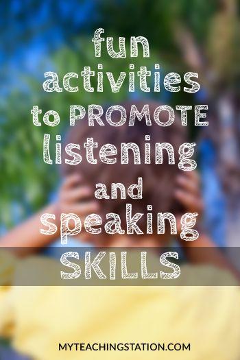 Child Development Educational Articles Effective Communication Skills Speaking Skills Communication Activities