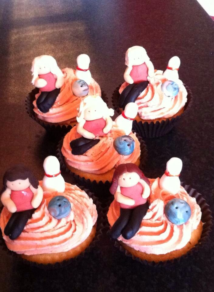 Cupcakes For My Daughters Tenpin Bowling Party Ten