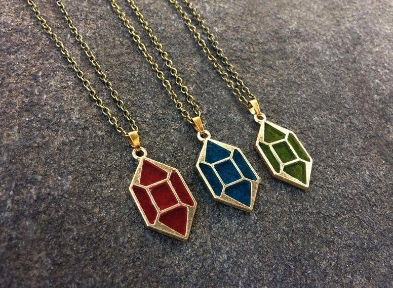 of Zelda Necklaces made by 10EEStudio -Legend of Zelda Necklaces made by 10EEStudio -  Game The leg
