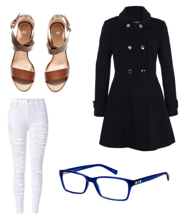 """Untitled #1954"" by ohnadine on Polyvore featuring Miss Selfridge, H&M and Armani Exchange"