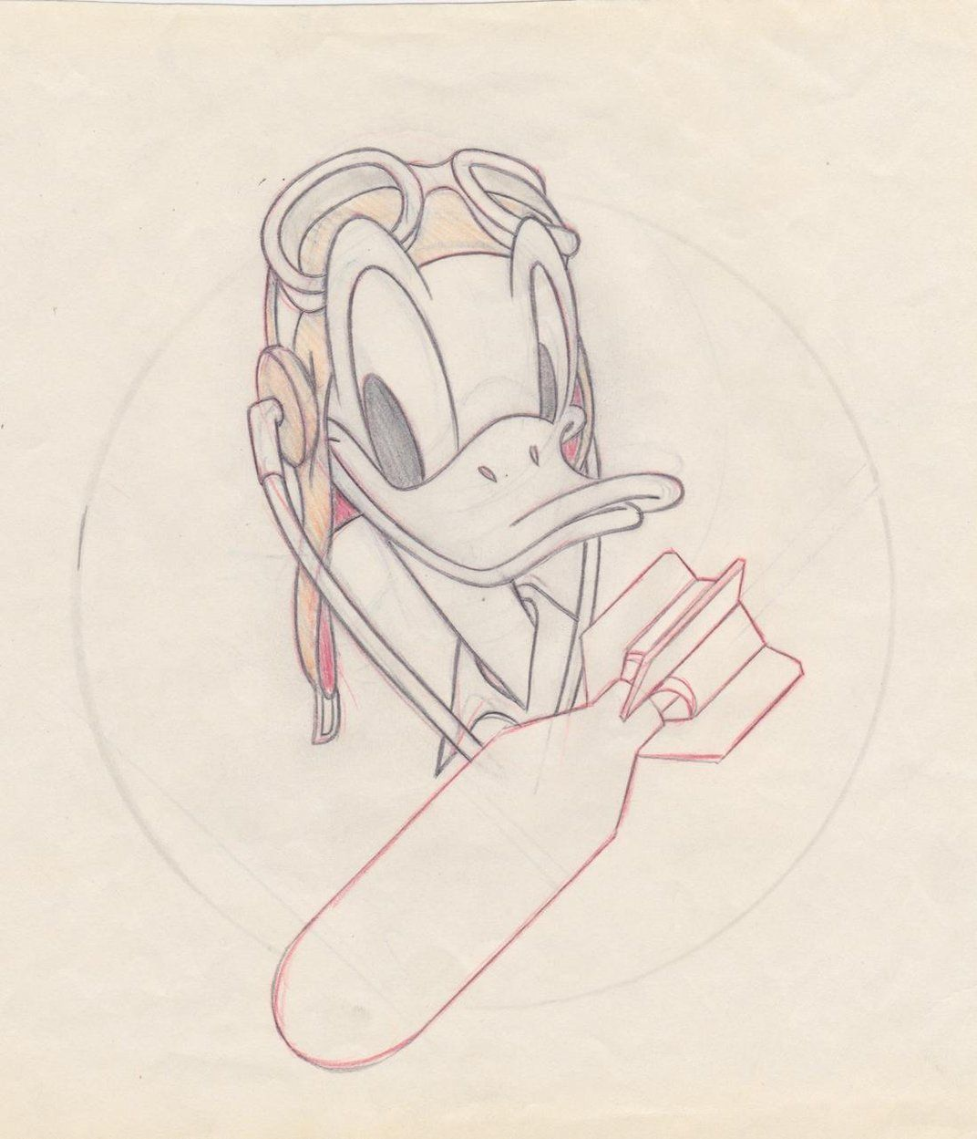 When Disney Went to War | Photos | Air & Space Magazine Donald Duck was the most versatile of insignia characters, equally comfortable wearing a can-do smile or a defiant glower. (Disney Enterprises)