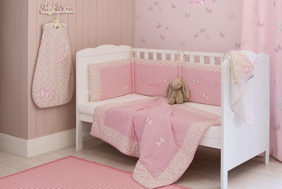 Bella butterfly bedroom decor