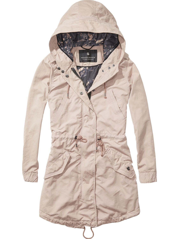 422b4dfb2cc Lightweight Summer Parka Jacket|Jackets|Woman Clothing at Scotch & Soda