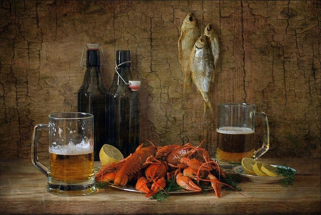 годы картинки пиво с рыбой и раками конечно