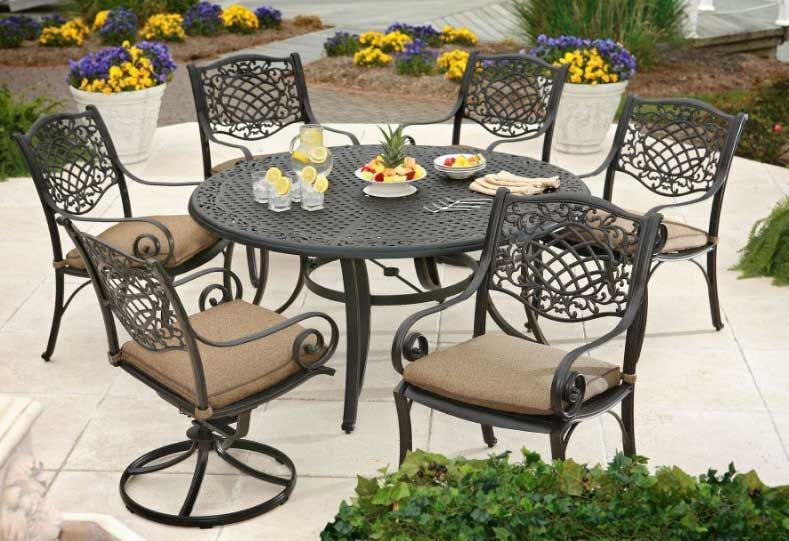 17 Best 1000 images about Cast Iron Patio Furniture on Pinterest Iron