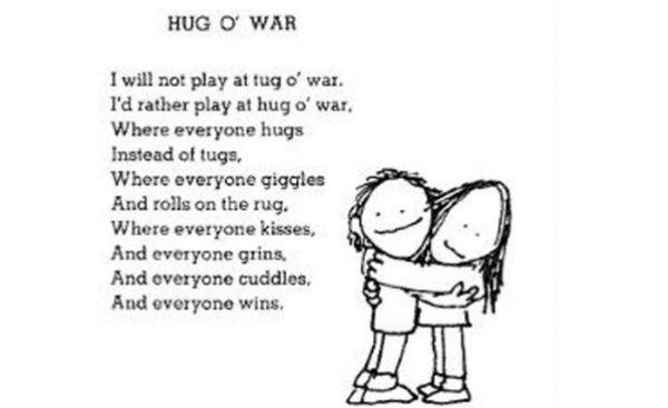 Great Shel Silverstein poem, especially for kids.