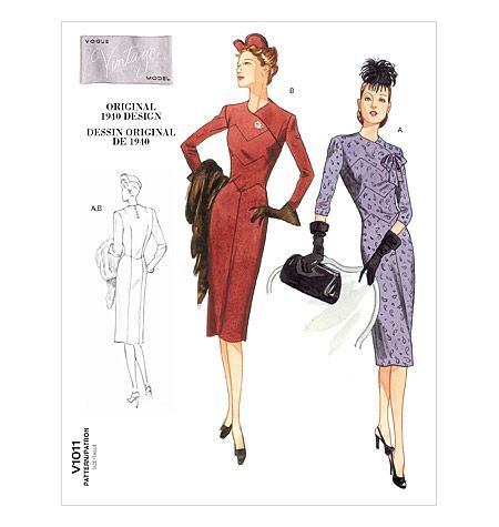 Vintage Vogue patterns on Pinterest | Vintage Vogue, Vogue ...