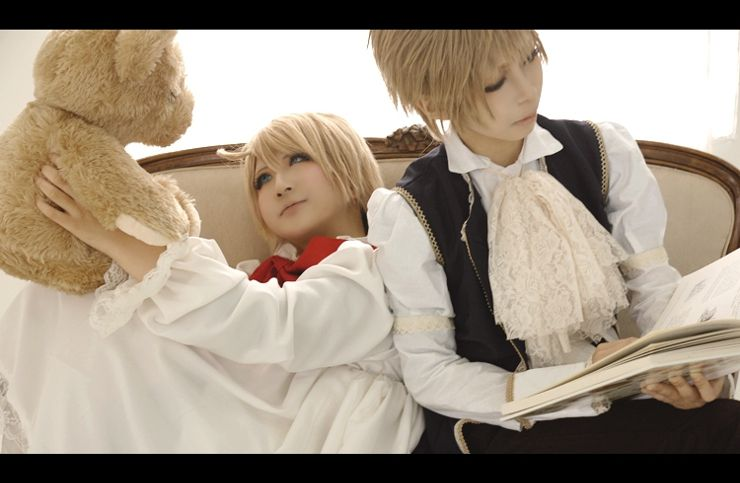 England and Chibi America, Axis powers Hetalia | Rose - WorldCosplay