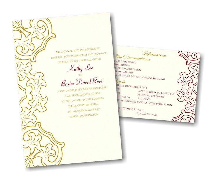 Create Your Own Wedding Invitation Suite 25