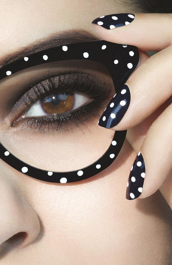 Top 10 Nail Art Designs From Instagram Nail X Beauty Polka Dots Stripes Polka Dot Nails Polka Dots