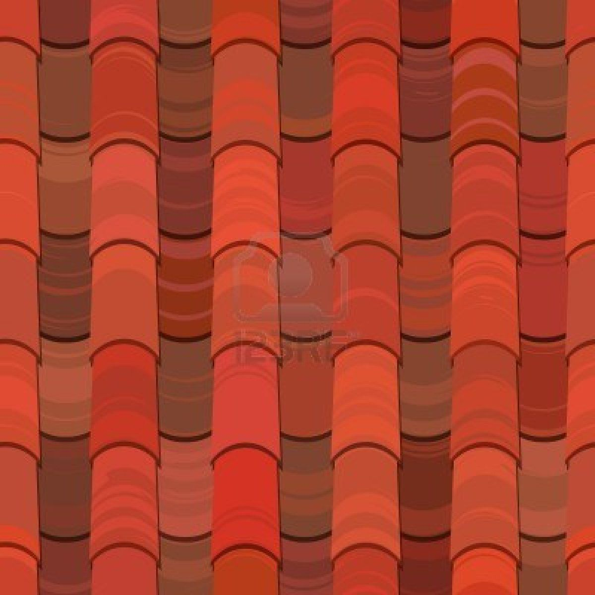 Red Clay Ceramic Roof Tiles Seamless Texture Ceramic Roof Tiles Red Clay Clay Roof Tiles