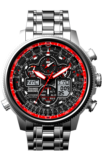 2b1ae4c7a Citizen Navihawk Red Arrows Limited Edition Watch JY8040-55E ...