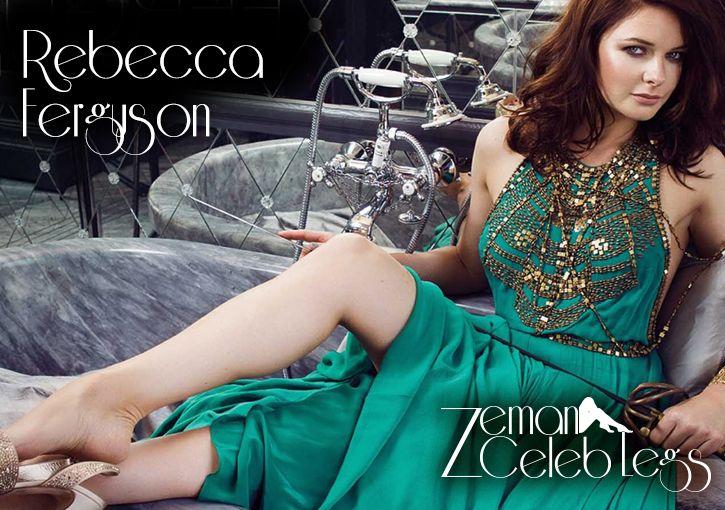 Rebecca Ferguson Sexy Celebrity Legs | Celebrity & Models