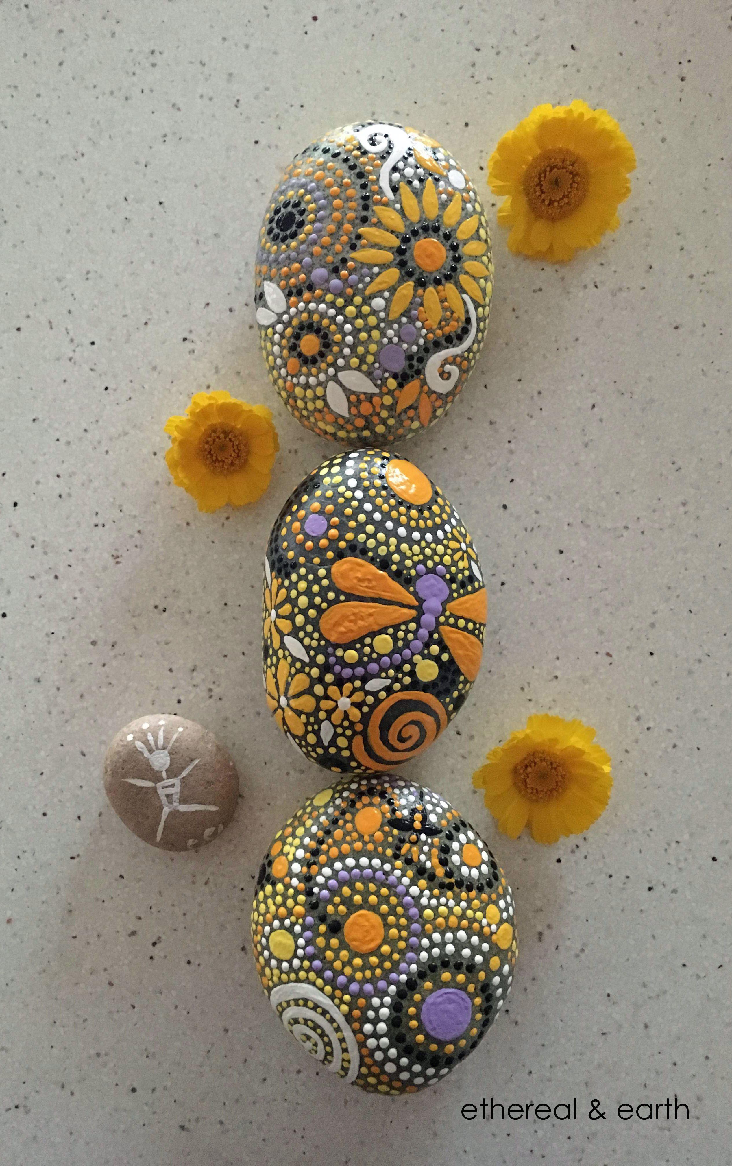 Egg Shaped Rock Paint Ideas