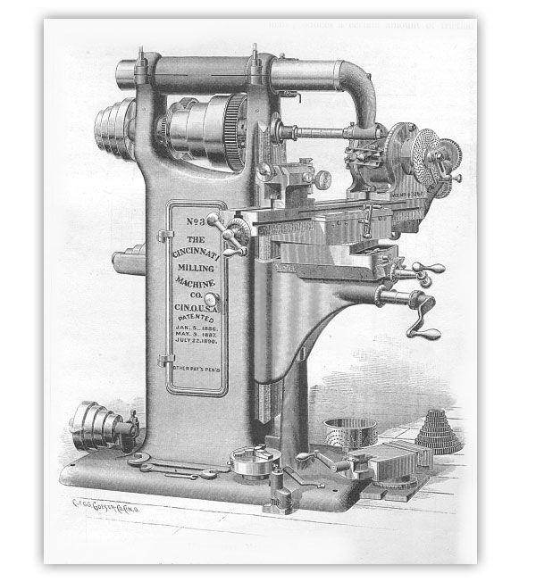 Engravings of 19th Century Industrial Machinery | Cool ...  Engravings of 1...