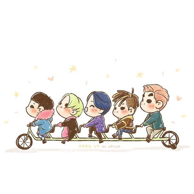 [fanart] #BIGBANG FXXK IT 