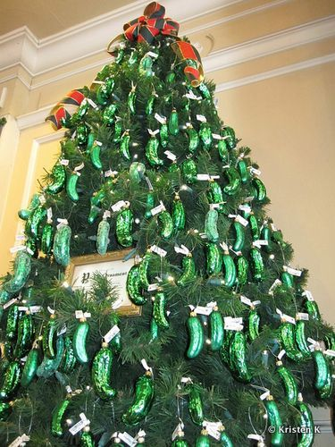 Tradition of the Pickle Tree in Epcot's Germany Pavilion | primary ...