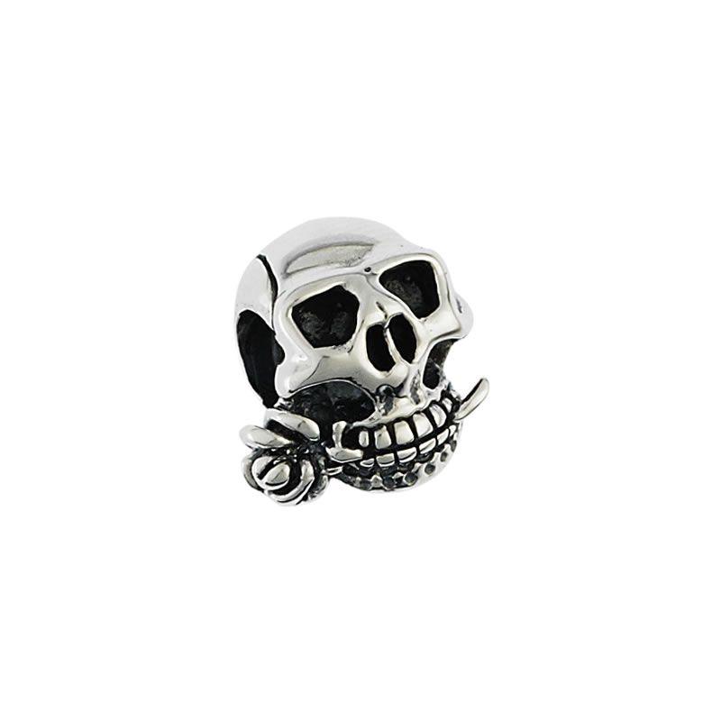 Moress Silver Skull Bead, $29.00