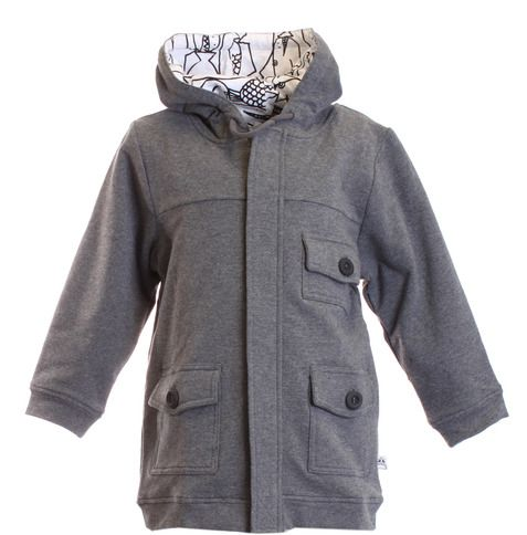 Little Horn - Charcoal Fisherman Jacket from Buckets and Spades