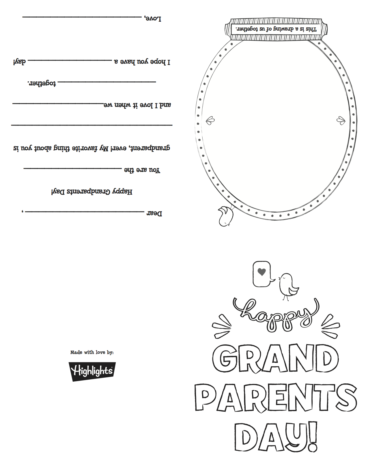 grandparentsdaycard copypng Grandparents Day