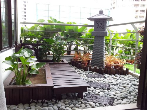 Balcony design 500 375 balcony garden for Small balcony garden ideas