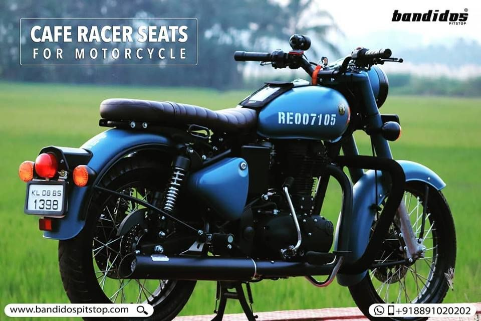 Now Bring Back The Retro Love In You With Our Custom Cafe Racer Inspired Seats For Motorcyc Royal Enfield Hd Wallpapers Royal Enfield Classic 350 Royal Enfield