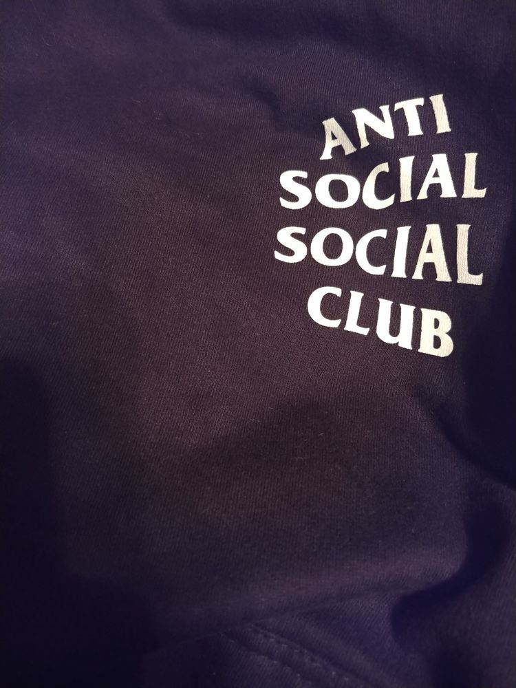 605e050fb1b6 Anti Social Social Club Mind Games Hoodie Medium Black New 100% Authentic   fashion