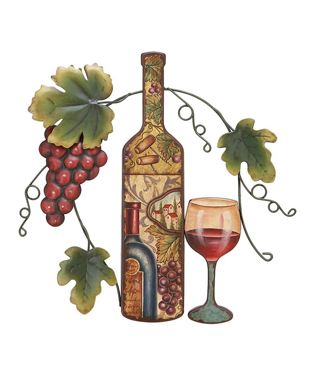 Look at this Red Grape & Wine Wall Art on #zulily today!