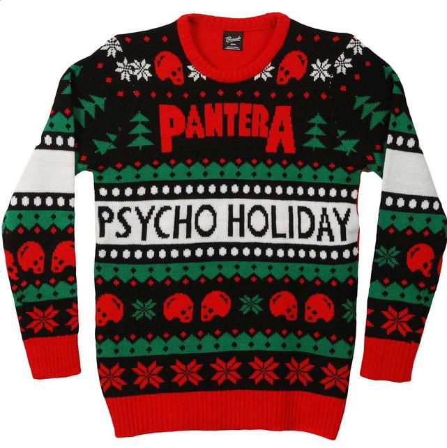 pantera ugly christmas sweater sweatshirt pantera christmas xmas music rock metal bands holiday rockabilia merchandise licensedmerchandise - Metal Band Christmas Sweaters