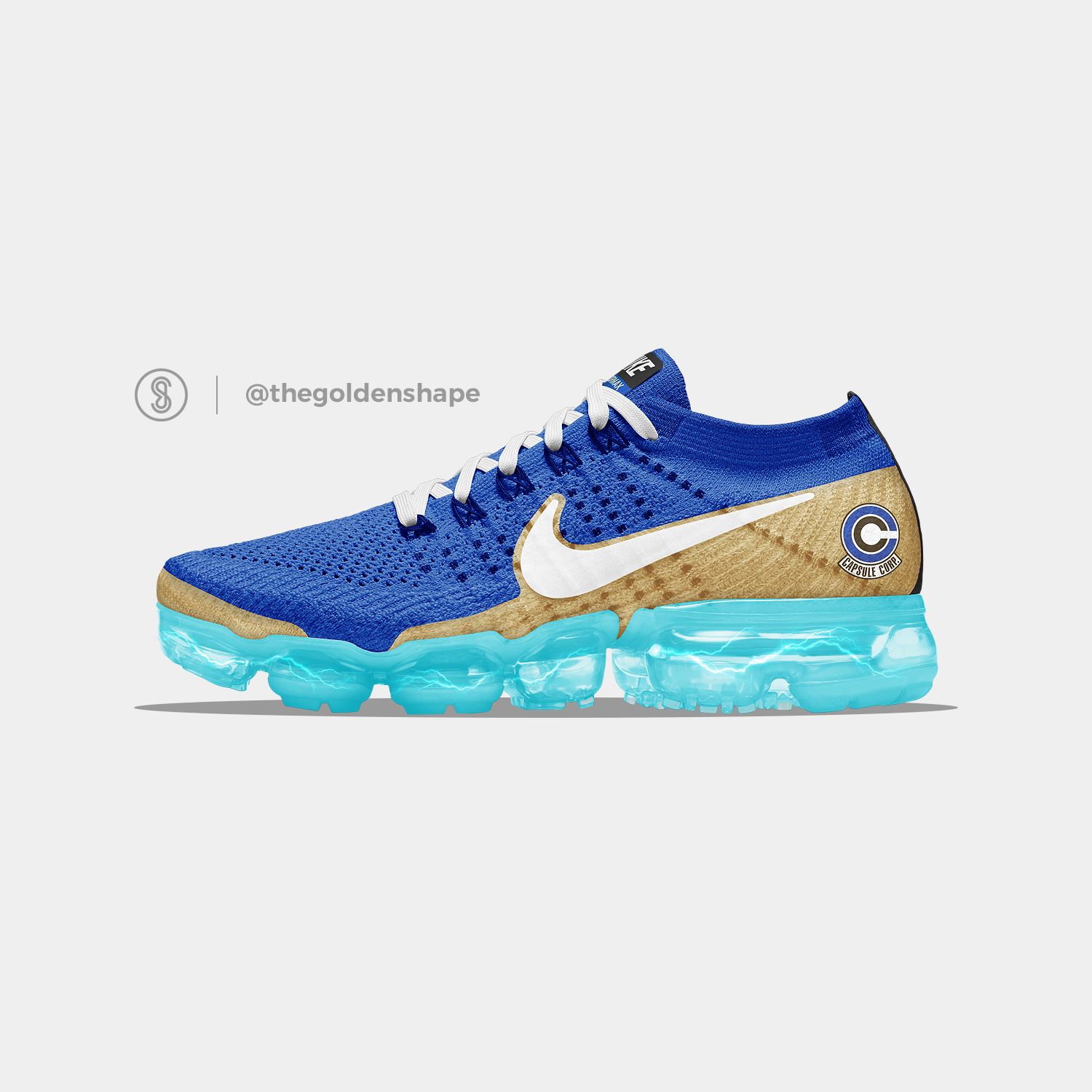 ce782c3f8f375 Nike x Dragon Ball Super VaporMax Vegeta Super Saiyan Blue