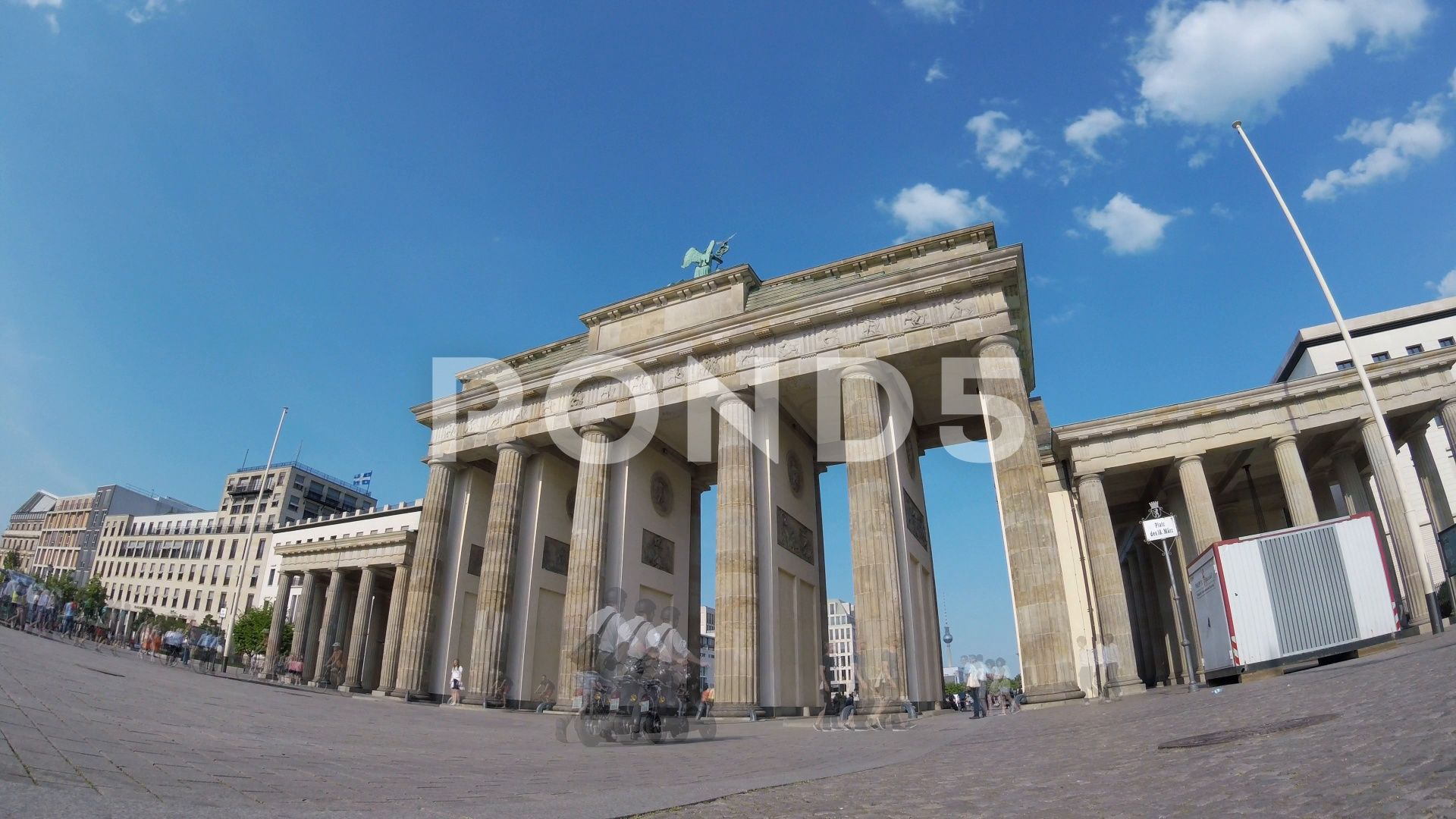 Fish Eye Time Lapse Tourists At Brandenburger Tor In Berlin Germany Stock Footage Ad Lapse Tourists Time Fish Tourist Brandenburg Gate Germany