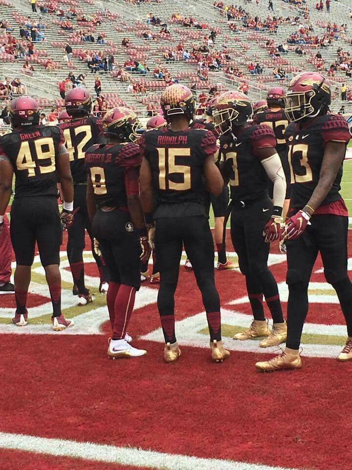 Black Out Uniforms That We Rarely Get To See Fsu Football Florida State Seminoles Football Seminoles Football