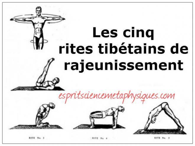 5 rites tibétains à faire chaque jour pour rester jeune et énergique | Spirit Spirituality Metaphysics