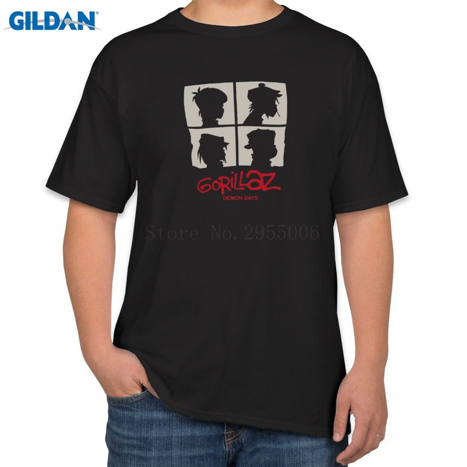 548d78b41 Click to Buy << Custom Printing Men Short Gorillaz Leisure Street Fighter  Crime Printing T-Shirt Men 2017 Cotton Simple Tshirts Size #Affiliate