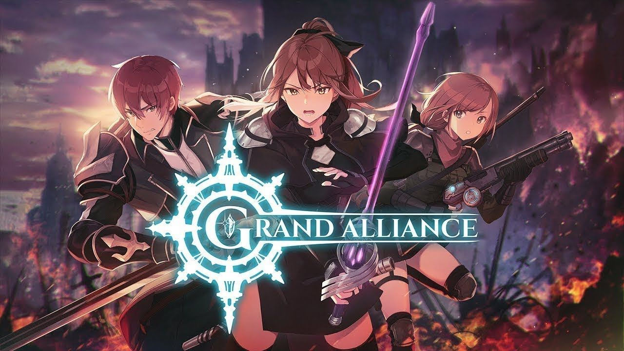 Grand Alliance android game first look gameplay español in