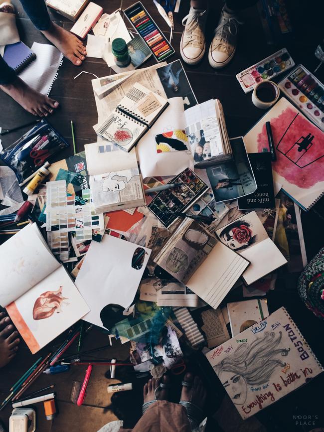 Best Of Art Journal: November's Freedom