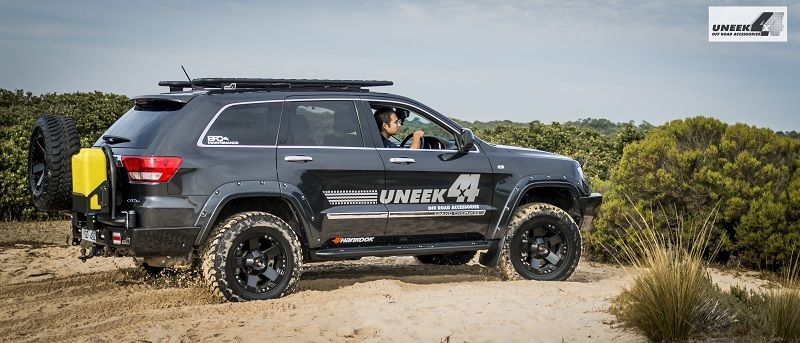 cherokee wk2 grand armour jeep mods offroad rear bar package carrier bumper