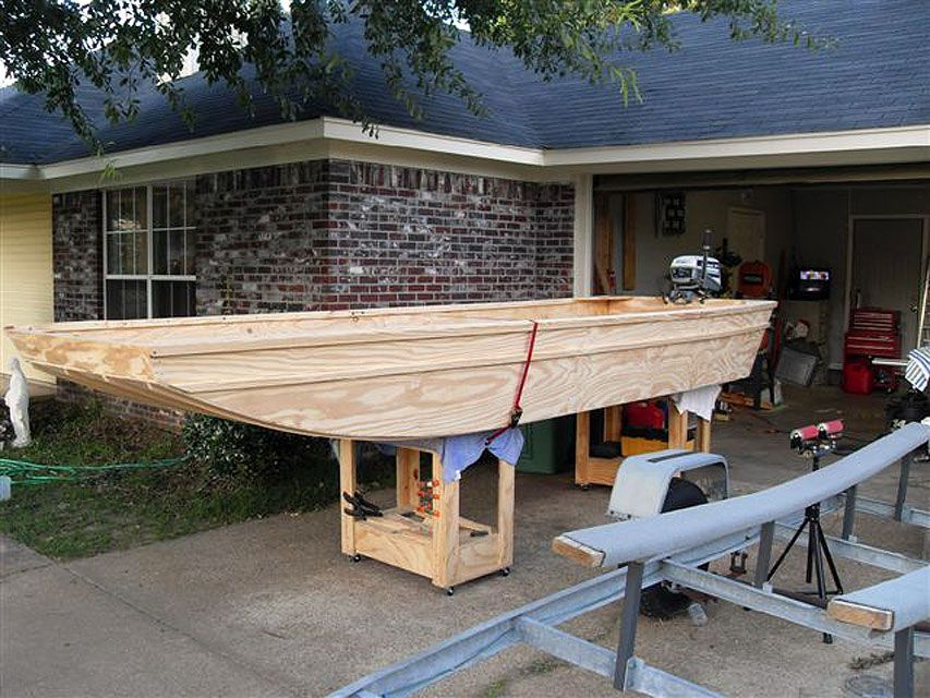 Diy Homemade Wooden Flat Bottom Boat Plans Free Buildyourownboat Boat Building Plans Flat Bottom Boats Build Your Own Boat